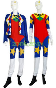 clown costumes doink clown costume mult color spandex lycra zentai suit with coat