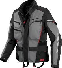 motorcycle touring jacket spidi gray voyager 3 motorcycle touring jacket with water proof