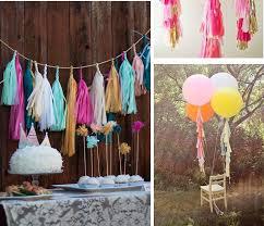 cheap garlands for weddings 10packs 50pieces lot 14inch tissue paper tassels garland diy
