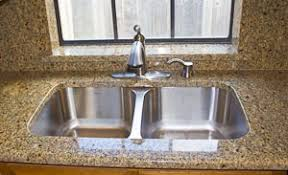 Countertop Kitchen Sink Undermount Sinks In Granite Countertops