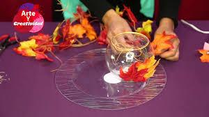 día de acción de gracias decoración para tu mesa hazlo tú mismo