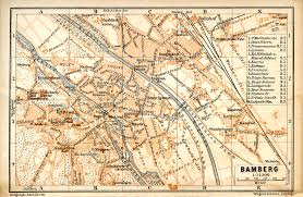 bamberg germany map free maps of germany