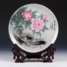 china home decor 2017 vintage home decor ceramic ornamental plate chinese