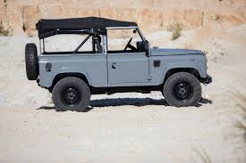 convertible land rover vintage cool u0026 vintage nardo grey land rover d90 the coolector