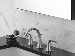 delta modern bathroomucets unbelievable widespreaducet brass