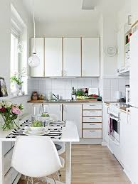 Small Apartment Design Kitchen Design White Apartment Tiny Minimalist Kitchen Design