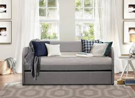 Daybeds With Trundles Homelegance Roland Daybed With Trundle Grey 4950gy