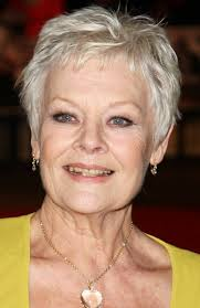 judi dench hairstyle front and back of head judi dench mature hairstyles