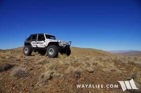 jeep mountain climbing down in and on top of the nightingale mountains