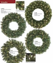 wreaths trees