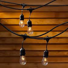 vintage light bulb strands waterproof 9m 30ft 9 heads e27 40w string light pendant l for