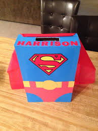 harrison u0027s superman valentine box mommy things pinterest