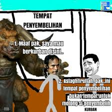 Foto Meme Indonesia - ketika karakter meme berkurban meme comic indonesia facebook