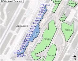 detroit metro airport map detroit dtw jpg