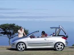 peugeot cabriolet 206 peugeot 206 cc le cabriolet moderne et abordable boitier rouge