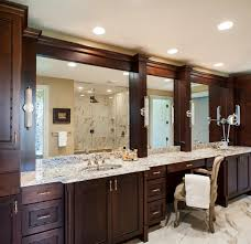 home decor wood framed mirrors for bathroom mirror cabinets with