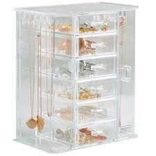 Jewellery Organiser Cabinet Buy Beautify Jewellery Organiser U0026 Makeup Storage Box With 6