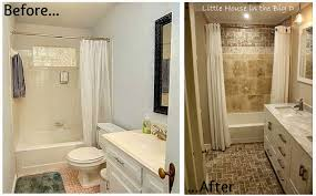 Bathroom Remodle Ideas Spacious Small Bathroom Remodels Before And After In Cool Remodel