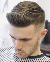 50s 60spompadour haircut mens quiff parted hair styles textured hairstyles pomade style