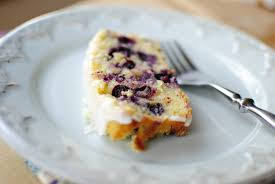 simply scratch lemon blueberry cake with buttermilk icing simply