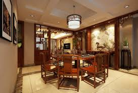 stunning chinese dining room with asian interior design also red