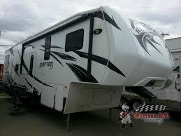 used 2013 keystone rv raptor 297se toy hauler fifth wheel at