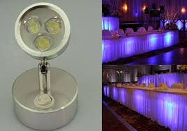 cordless battery powered led picture light cordless led undertable l for wedding events under table lighting