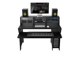 studio workstation desks zomo studio desk milano black ebay