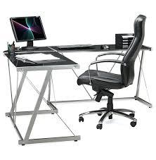 bureau angle verre noir bureau angle en verre incroyable bureau informatique ikea beautiful