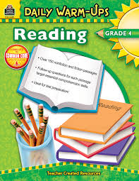 daily warm ups reading grade 4 tcr3490 teacher created resources