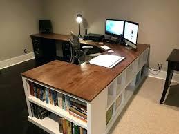 Diy Pc Desk Desk Desktop Pc Desk Cubby Bookshelf Corner Desk Combo Diy