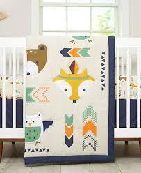 Nojo Crib Bedding Set By Nojo Aztec 5 Pc Crib Bedding Set Bed In A Bag