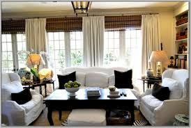 Wooden Blinds With Curtains Curtains Over White Wood Blinds Curtains Home Design Ideas