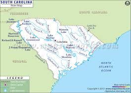 carolina world map buy south carolina river map