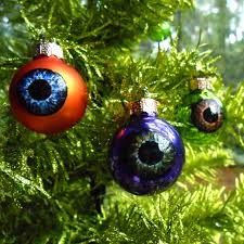 eyeball ornaments mini eyeballs glass ornament balls creepy decor