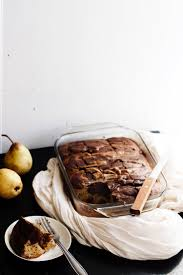 pear and dark chocolate marble cake reflections of a dance