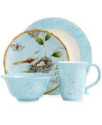 fitz and floyd dinnerware toulouse blue collection dinnerware