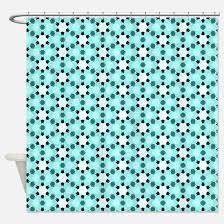 Aqua Blue Shower Curtains Black White Aqua Shower Curtains Black White Aqua Fabric Shower