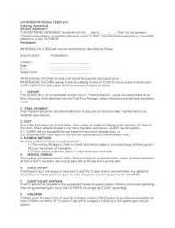 18 catering contract template word sample service agreement 11