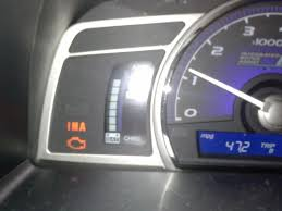 ima light honda civic 2008 honda civic hybrid ima system not working properly 2 complaints