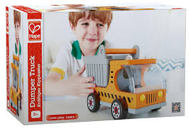 hape dumper truck toy at growing tree toys