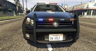 police corvette stingray volkswagen golf mk6 police lspd gta5 mods com