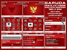 udjo42 themes for nokia c3 garuda theme by udjo42 on deviantart