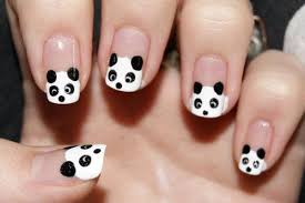 panda nails u2013 kawaii nail art hawaii kawaii blog