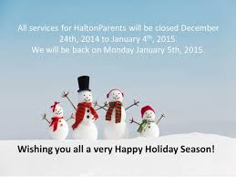 happy wishes to you and your family haltonparents