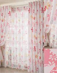 home decoration childrens pink curtains for bedroom curtain