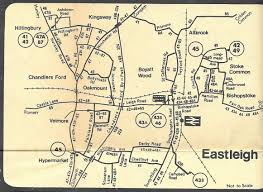 M60 Bus Route Map by Southampton Bus Update Out Of Town In 1978 Fareham Routes Then
