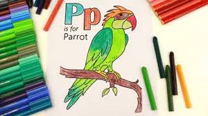 drawing alphabets and coloring alphabet letter p coloring