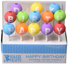 happy birthday candle oasis supply happy birthday letter candle holders with