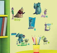 roommates rmk2010scs monsters inc peel and stick wall decals 31